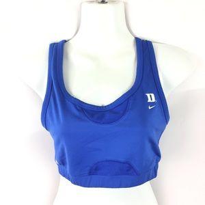 NIKE | Drifit sports bra Duke Blue Devils L